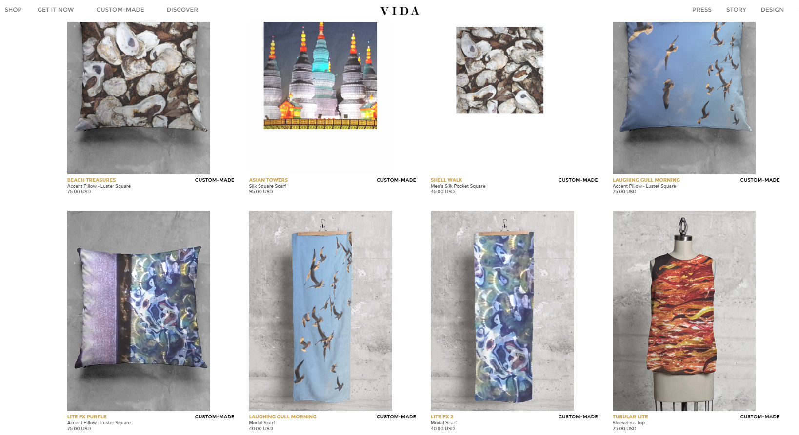 Vida Shop - Lois Gallo Collection